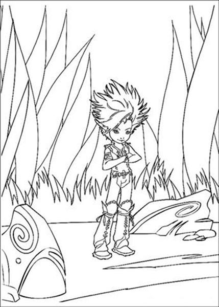 Arthur 3 Coloring Pages 2