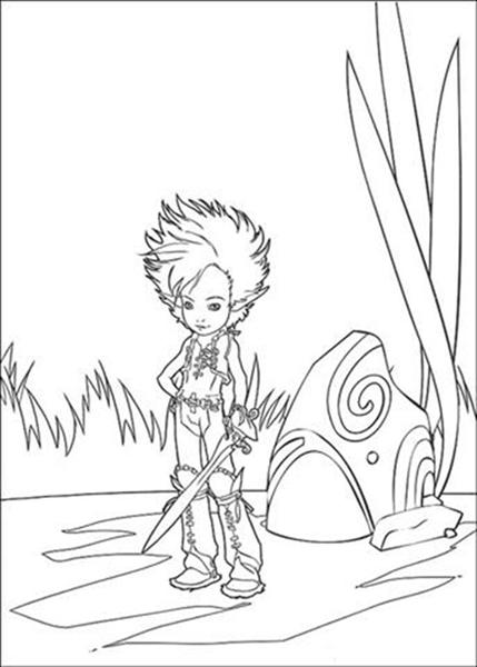 Arthur 3 Coloring Pages 4