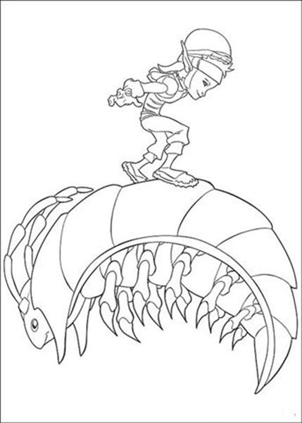 Arthur 3 Coloring Pages 5