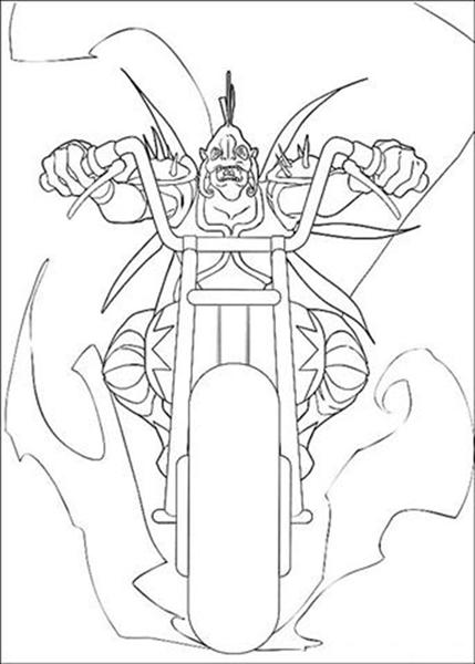 Arthur 3 Coloring Pages 6