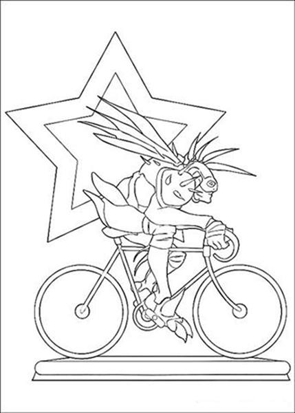 Arthur 3 Coloring Pages 7