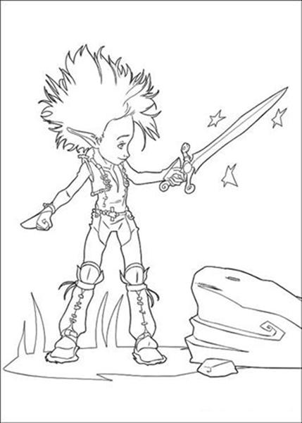 Arthur 3 Coloring Pages 8