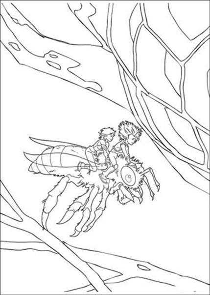 Arthur 3 Coloring Pages 9