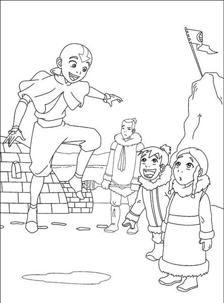Avatar Coloring Pages 2