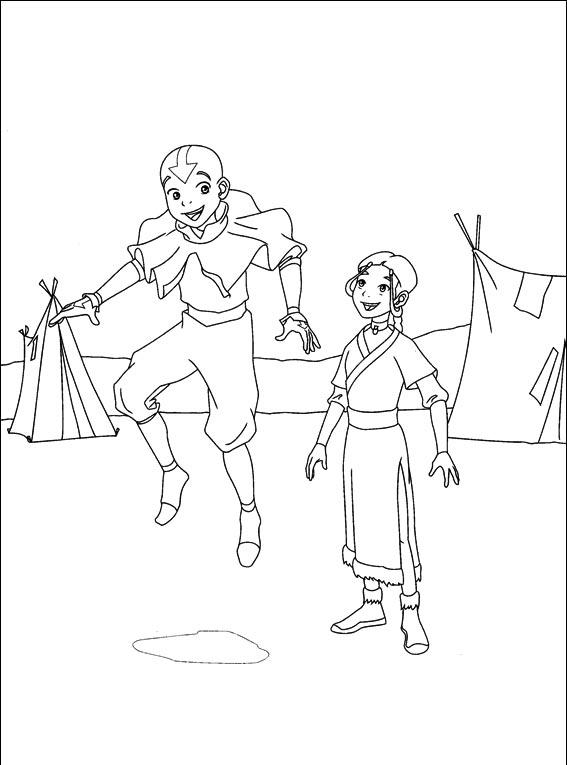 Avatar Coloring Pages 3
