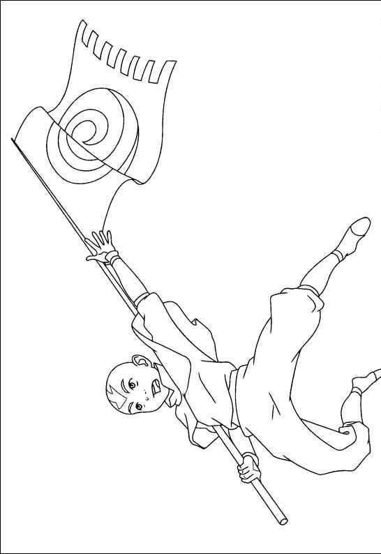 Avatar Coloring Pages 4