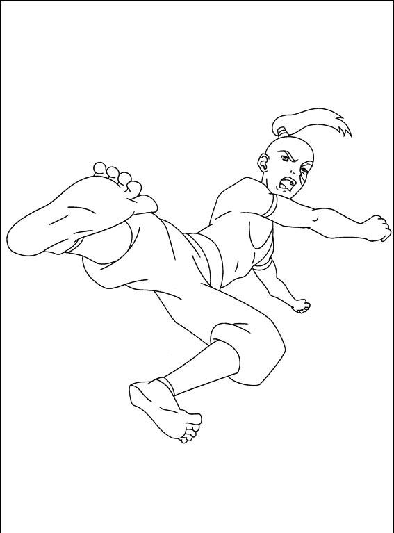 Avatar Coloring Pages 6