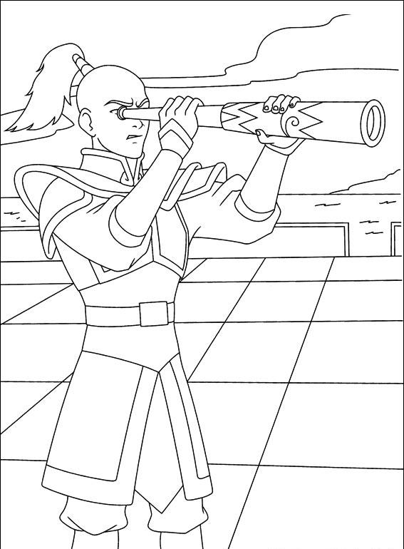 Avatar Coloring Pages 7