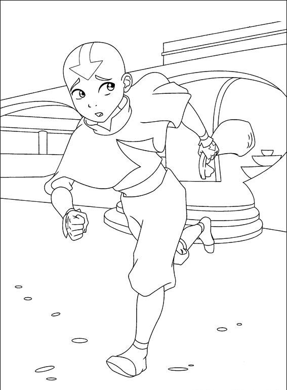 Avatar Coloring Pages 8