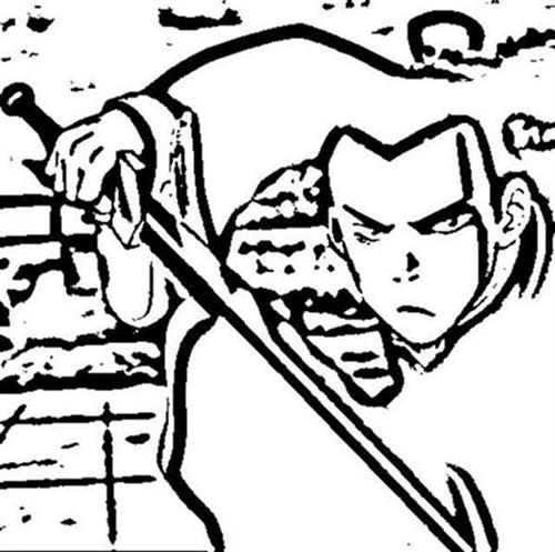 Avatar The Last Airbender Coloring Pages 1