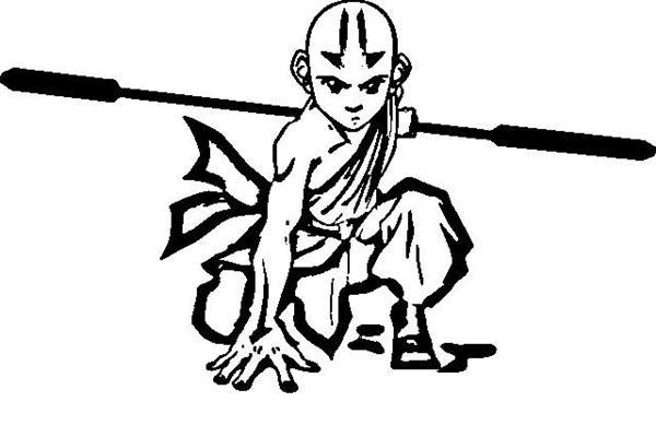 avatar the last airbender coloring pages 8