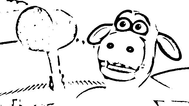 Back at The Barnyard Coloring Pages 11