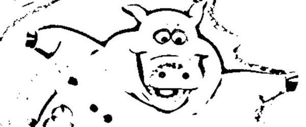 Back at The Barnyard Coloring Pages 2
