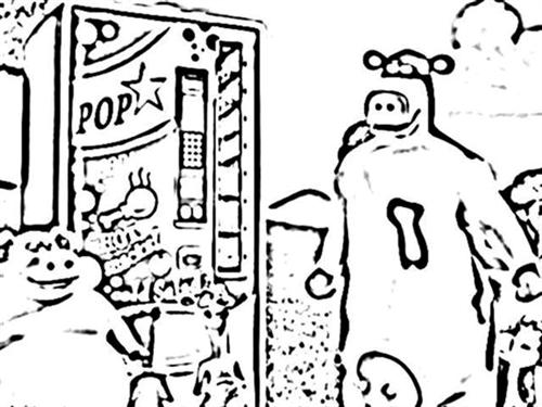 Back at The Barnyard Coloring Pages 6