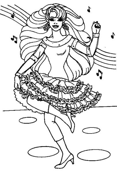 Barbie Princess Coloring 6