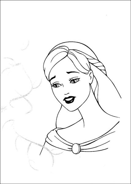 Barbie and The Magic Pegasus Coloring Pages 13