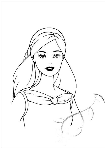 Barbie and The Magic Pegasus Coloring Pages 14