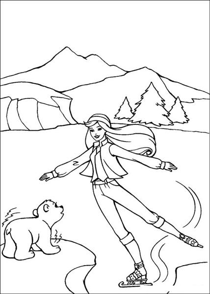 Barbie and The Magic Pegasus Coloring Pages 15