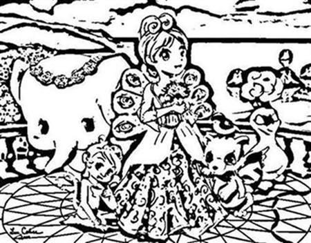 Barbie as The Island Princess Coloring Pages 11