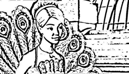 Barbie as The Island Princess Coloring Pages 12
