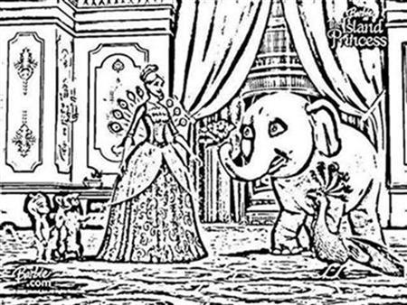 Barbie as The Island Princess Coloring Pages 5