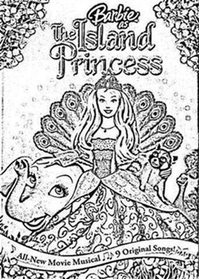Barbie as The Island Princess Coloring Pages 6