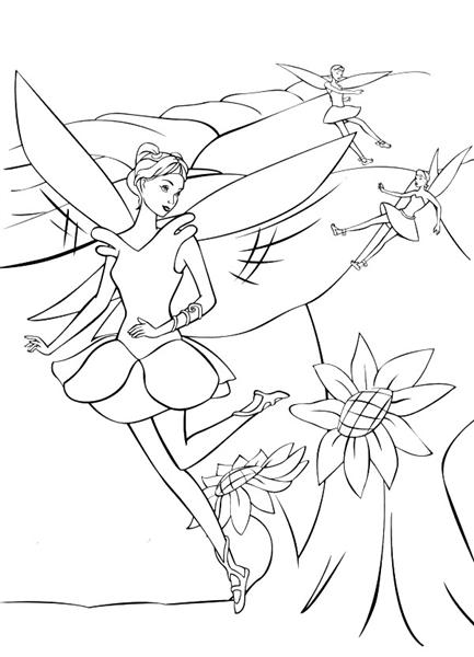 Barbie Fairytopia Coloring Pages 3