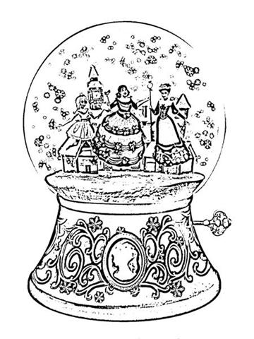 Barbie in a Christmas Carol Coloring Pages 2