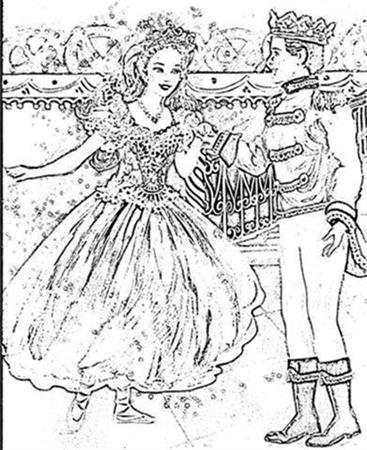 Barbie Nutcracker Coloring Pages 7