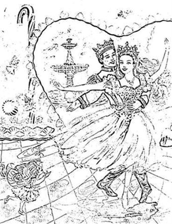 Barbie Nutcracker Coloring Pages 9