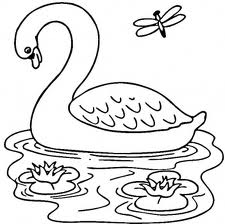 Barbie of Swan Lake Coloring Pages 4
