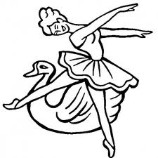 Barbie of Swan Lake Coloring Pages 5