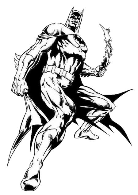 Batman Coloring Pages 1