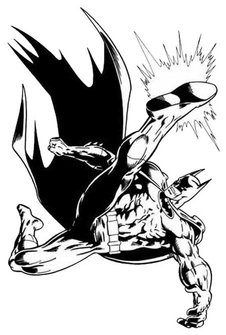 Batman Coloring Pages 2