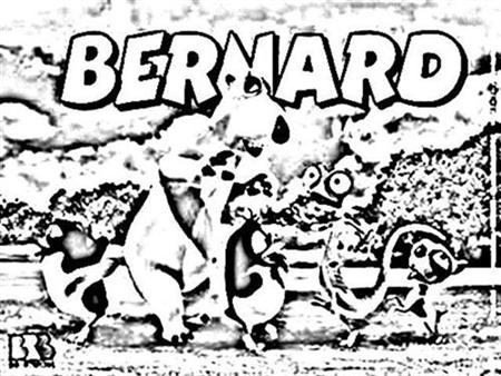 Bernard Coloring Pages 5
