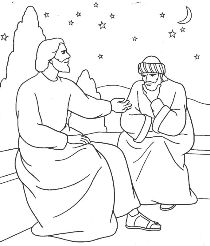 Bible Coloring Sheet 7