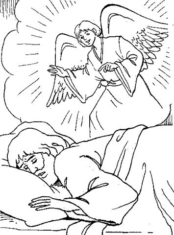 Bible Coloring Sheet 9