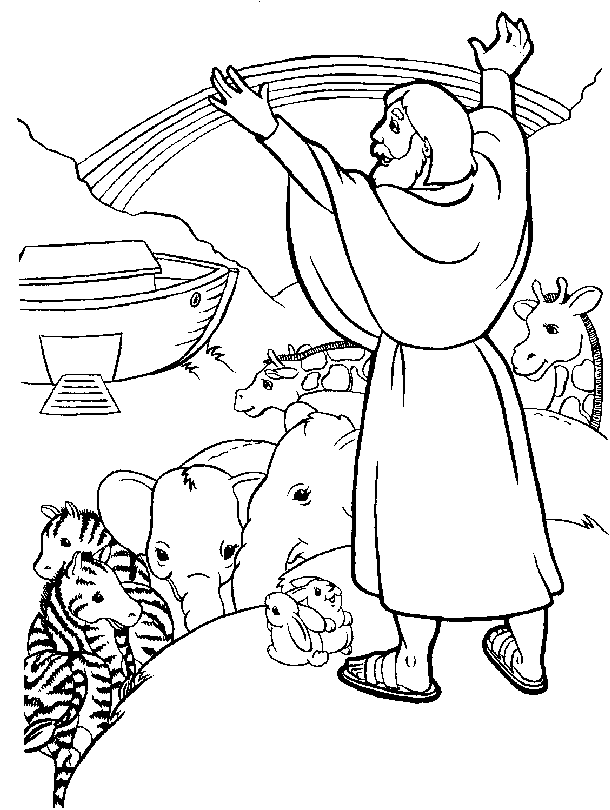 Bible Coloring Sheet 11