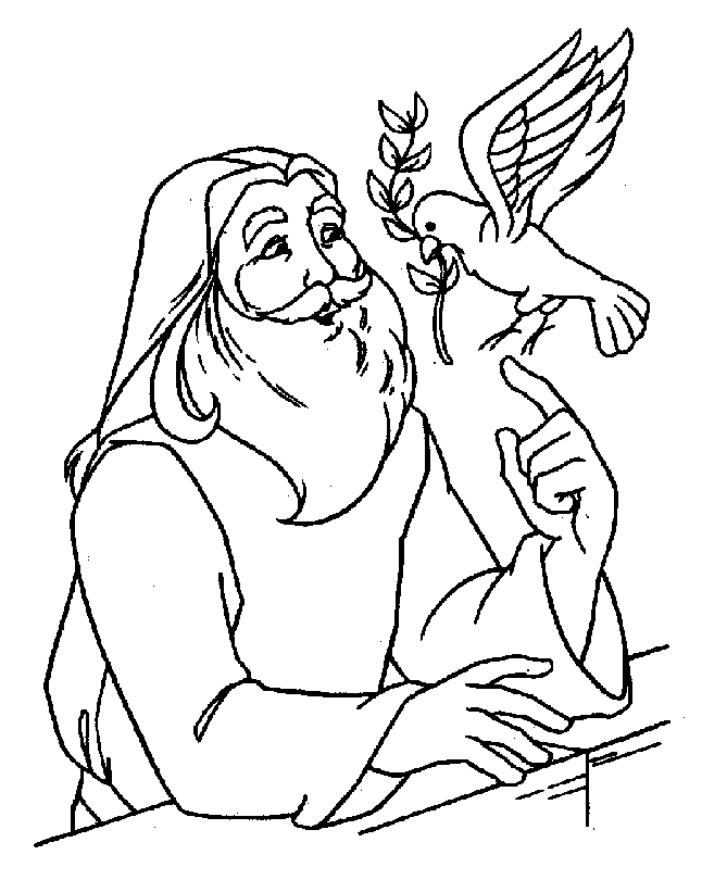 Bible Coloring Sheet 12