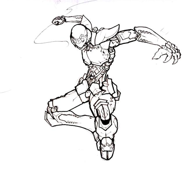 Blassreiter Coloring Pages 4