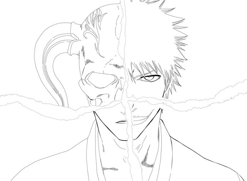 Bleach Coloring Pages 2