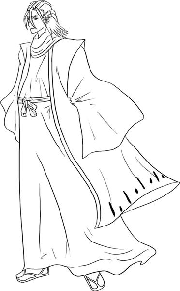 Bleach Coloring Pages 4