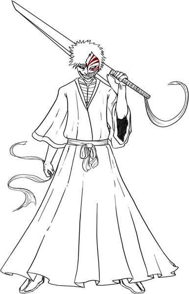 Bleach Coloring Pages 6