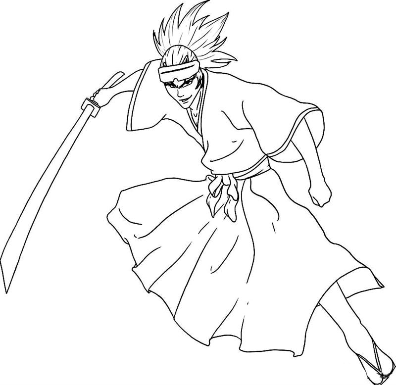 Bleach Coloring Pages 8
