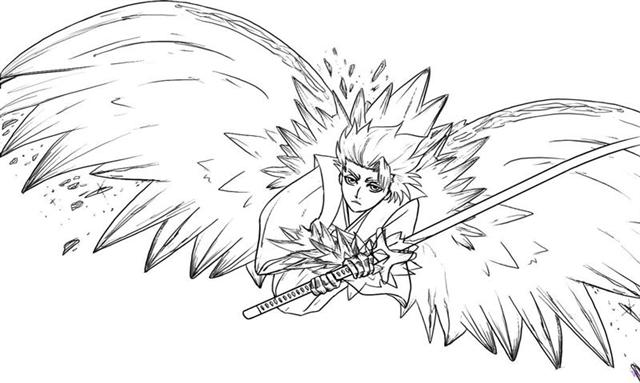 Bleach Coloring Pages 9