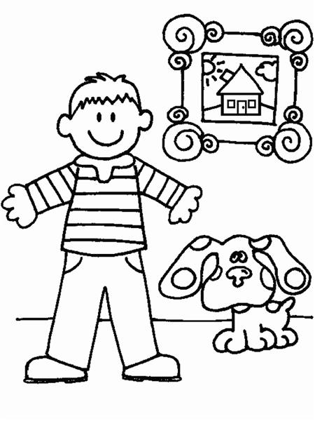 Blues Clues Coloring Pages 8