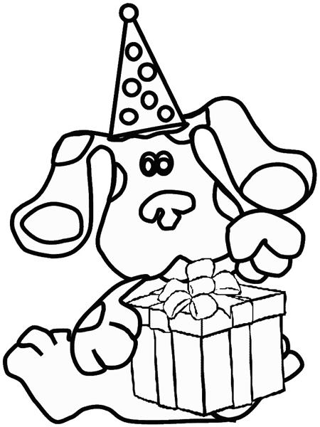Blues Clues Coloring Pages 6