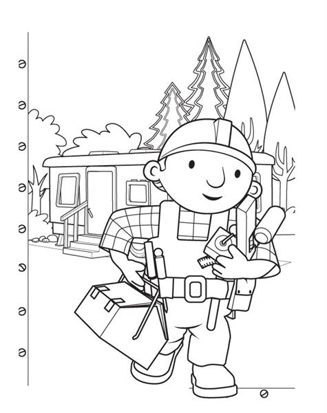 Bob The Builder Coloring Pages 1