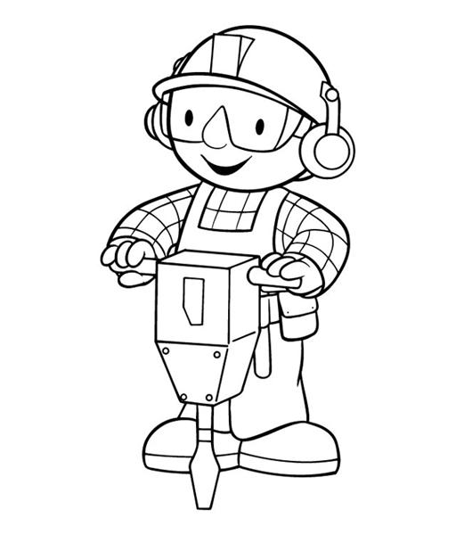 Bob The Builder Coloring Pages 4