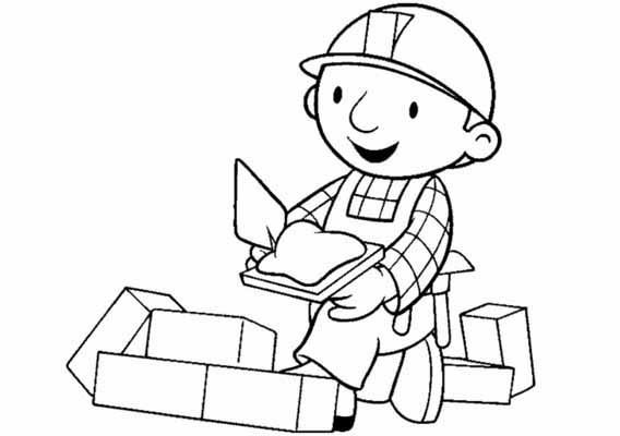 Bob The Builder Coloring 6